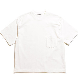AURALEE - Stand Up Tee-White