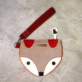littleoddforest - The Fantastic Fox Wrist-Poche