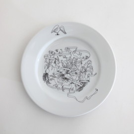 PASS THE BATON - Goat&Wolf Remake tableware plate