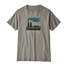 patagonia - M's Artifishal Organic Cotton T-Shirt, Feather Grey (FEA)