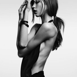 HEDI SLIMANE - Karlie Kloss for Vogue Japan February 2012