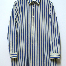 DIGAWEL - LONG SHIRT(BLUE STRIPE)