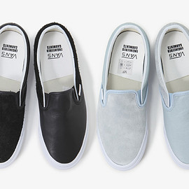VANS, ENGINEERED GARMENTS - OG CLASSIC SLIP-ON LX