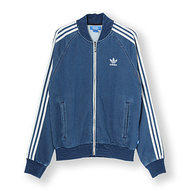 adidas originals - FT DENIM SST TRACK TOP