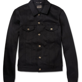 YVES SAINT-LAURENT - Saint Laurent Dry Denim Jacket