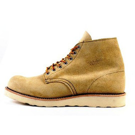 RED WING - PLAIN TOE 8167 SAND SUEDE