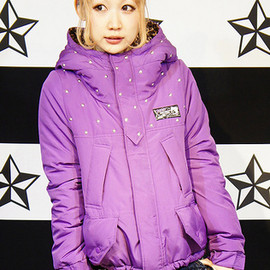 Candy Stripper - 2WAY MOUNTAIN PARKA