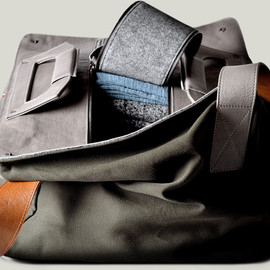 Hard Graft - Square1 Holdall / Field