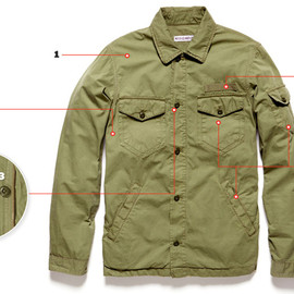 MICHAEL BASTIAN - Army shirts jacket