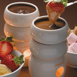 MAX BRENNER - Fire Water Chocolate Fondue Tower