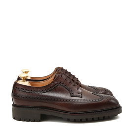 Crockett&Jones - CHEVIOT/Dark Brown Scotch Grain