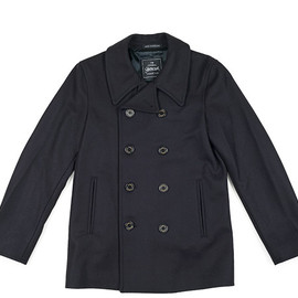 Gloverall - P Coat 2140MM-Navy