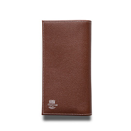Whitehouse Cox - ホワイトハウスコックス | S9697 LONG WALLET / LONDONCALF × BRIDLE(BROWN/NAVY)