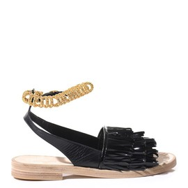 BALENCIAGA - Tassel patent-leather sandals