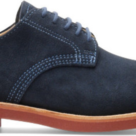 Walk Over - DERBY Navy Suede