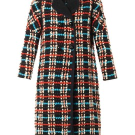 Chloé - Embroidered wool-blend coat