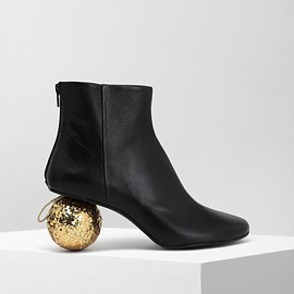 MM6 Maison Margiela - Christmas ball-heeled ankle boots
