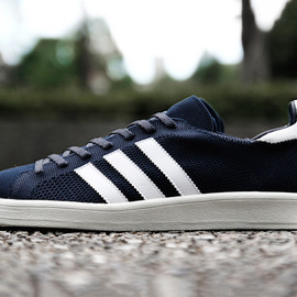 adidas originals - Primeknit edition  Campus 80s./navy
