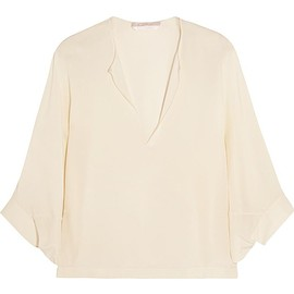 Chloé - Silk crepe de chine top