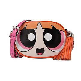 MOSCHINO - Moschino Powerpuff Girls Womens Small Shoulder Bag Orange