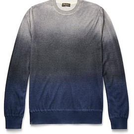 Berluti - Dégradé Cashmere and Silk-Blend Sweater