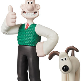 MEDICOM TOY - UDF Aardman Animations #1 WALLACE & GROMIT