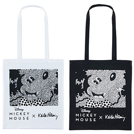 MEDICOM TOY - MICKEY MOUSE × Keith Haring TOTE BAG