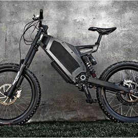 Stealth Electric Bikes- The Bomber