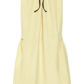 MARNI - spring bow-detailed twill dress