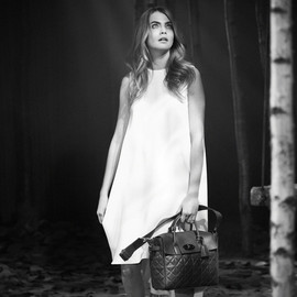 Mulberry - CARA DELEVINGNE BAG QUILTED NAPPA