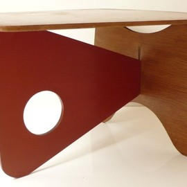"Dan Cooper - ""Butterfly"" Table, USA  (c. 1942)."