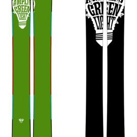 amplid - Greenlight Fat Ski 2013