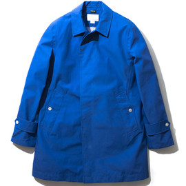 nanamica - GORE-TEX® Soutien Collar Coat (ROYAL BLUE)