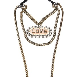 LANVIN - Love Chain Necklace