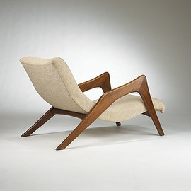 Vladimir Kagan - Attribution chaise lounge 1950