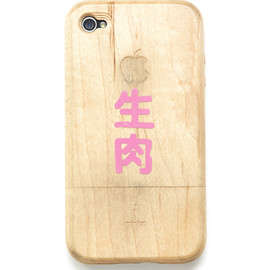 miniot - Wooden iPhone4 Case