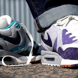 Nike - Air Max Light -Size? Exclusive (Purple/White/Gum)