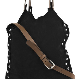 MARNI - Studded Suede Cross Body Bag
