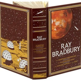 Ray Bradbury - The Martian Chronicles/The Illustrated Man/The Golden Apples of the Sun (Barnes & Noble Leatherbound Classics)