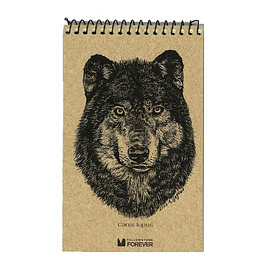 YELLOWSTONE FOREVER - Wolf Explorer Notepad