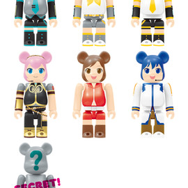 MEDICOM TOY - Happyくじ 初音ミク 2014 Autumn Ver. BE@RBRICK