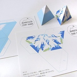 15 STEP - MOUNTAIN POST CARD