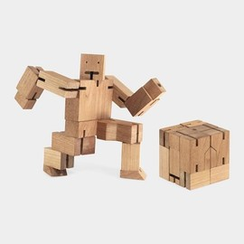 David Weeks - Cubebot ウッドトイ
