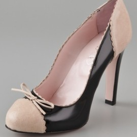 REDValentino - Two Toned Patent Pumps