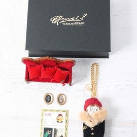 "MUVEIL - GRANDMA CHARM WINTER BOX ""ROSE"""