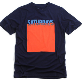 SATURDAYS SURF NYC - BLOCK T-shirt