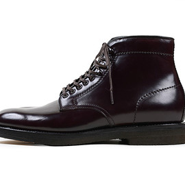 Alden - 4600H Lace Up Boots-Burgundy
