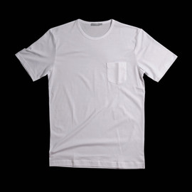 SUNSPEL - Sunspel Pocket Tee in White