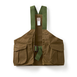 FILSON - The Tin Cloth Strap Vest in Tan