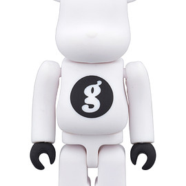 MEDICOM TOY - BE@RBRICK GOODENOUGH WHITE 100%